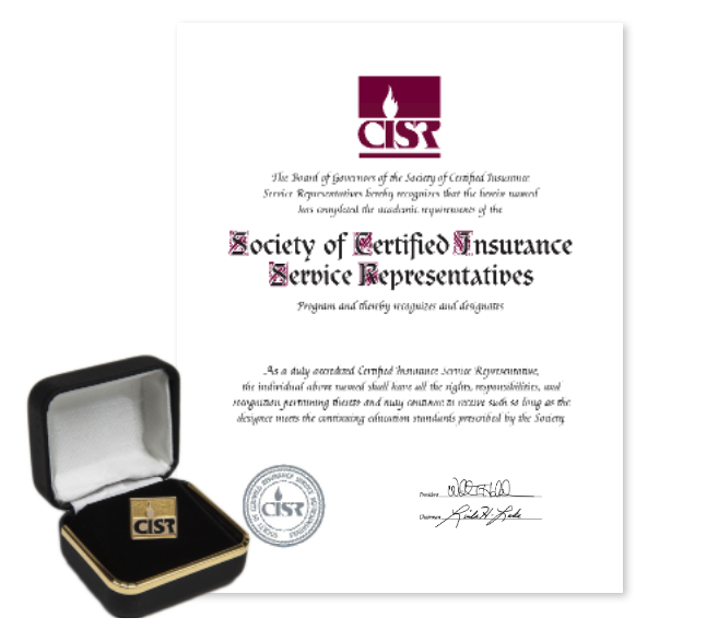 Cisr Certified Insurance Service Representative The National