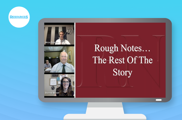 History of Rough Notes