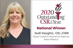 2020 OCSRY Winner Judi Vaughn, CIC, CISR